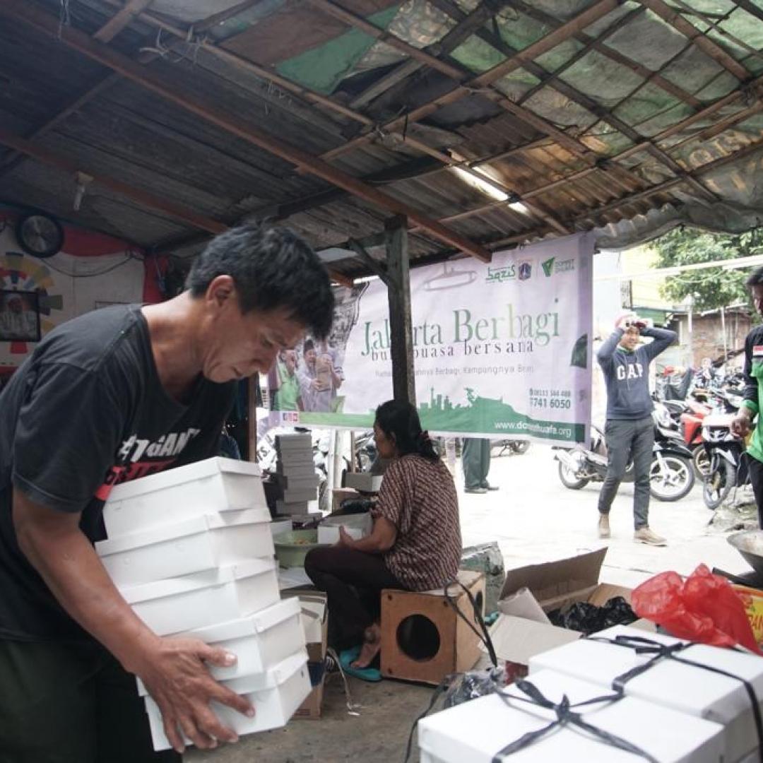Sambil Berbagi, Ini Keseruan Buka Puasa Bersama Pemprov DKI Jakarta