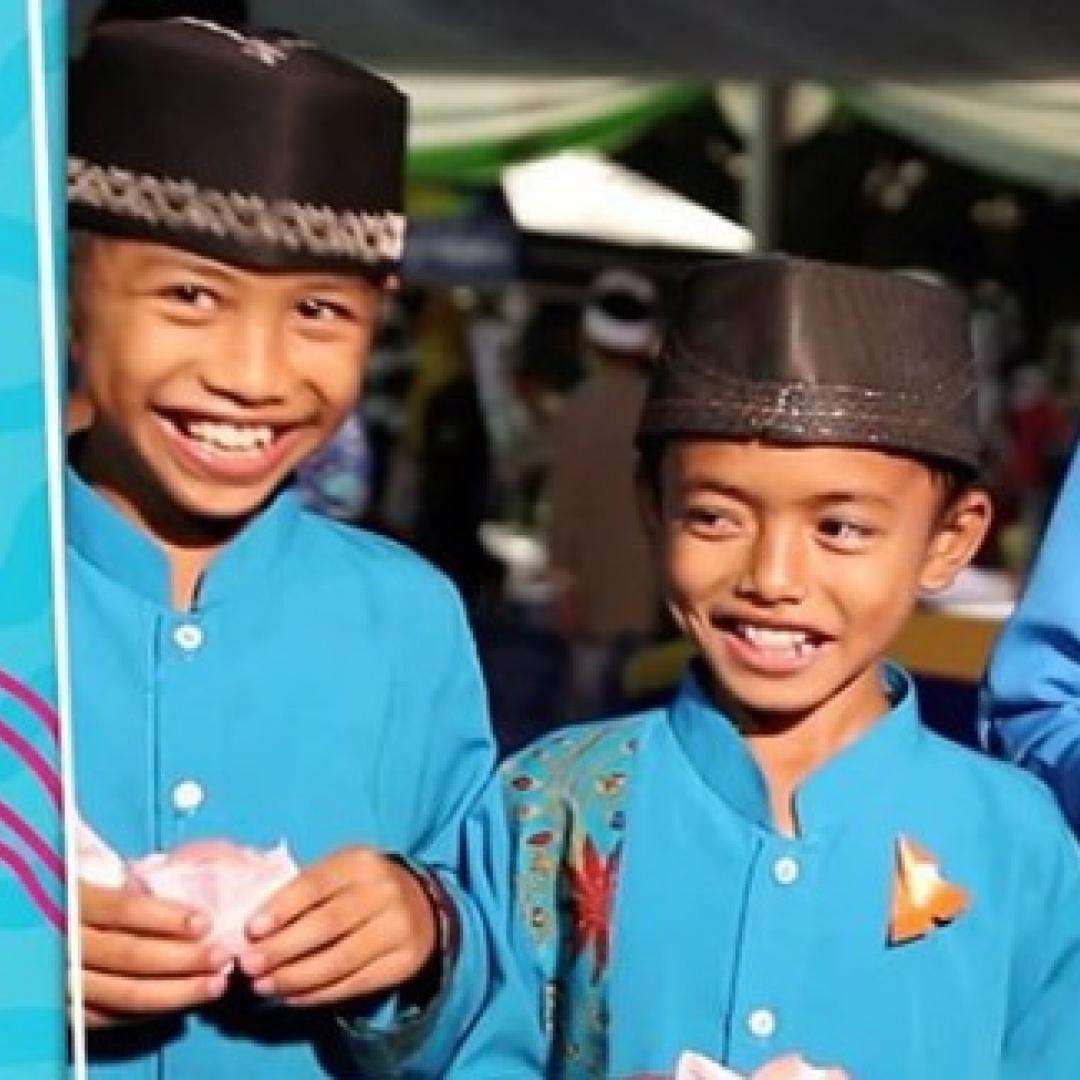 Pembagian Es Krim di Kota Terbanyak di Indonesia Torehkan Rekor MURI