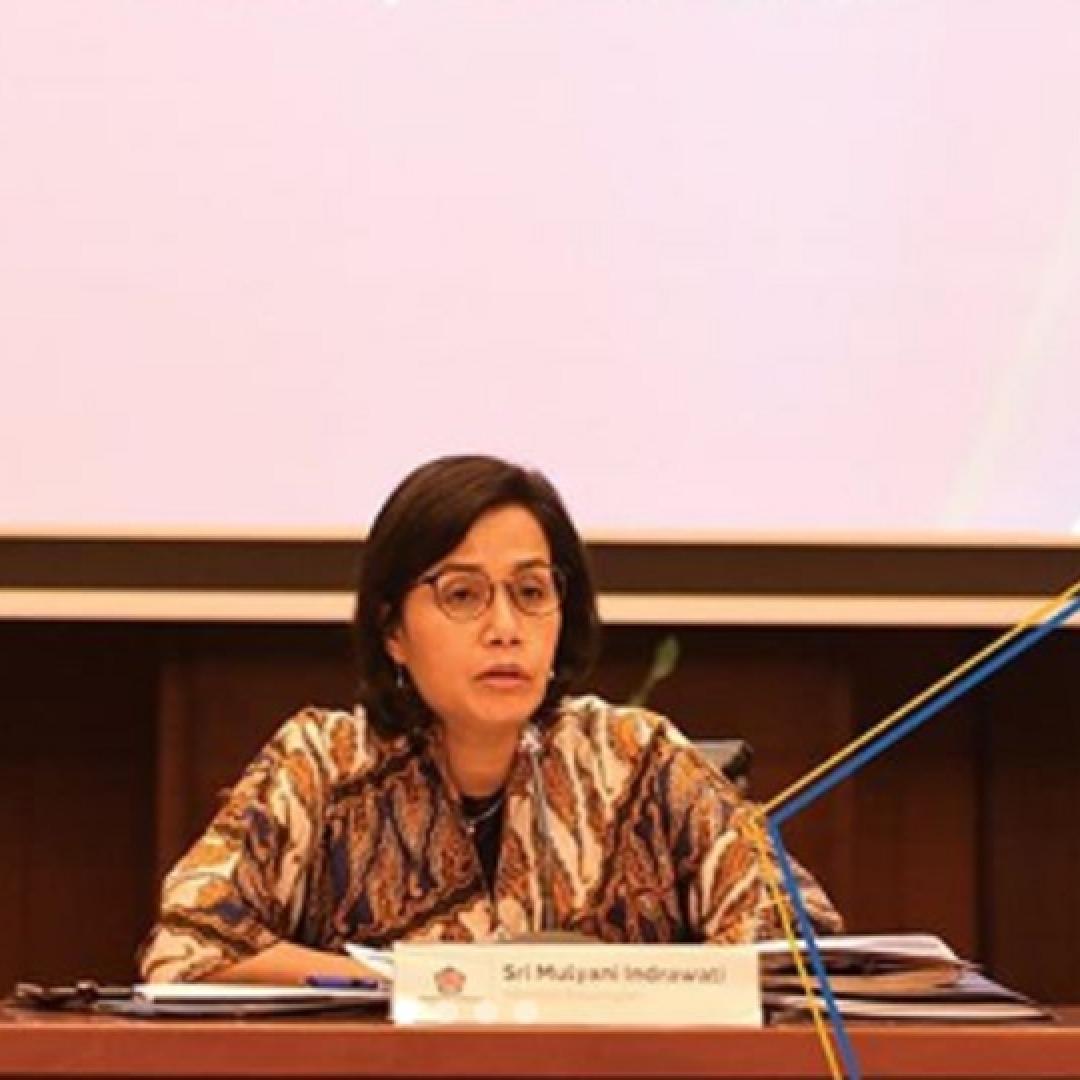 Lantik 499 Pejabat Baru, Menkeu Sri Mulyani Ingatkan Suasana Perang Dagang Global