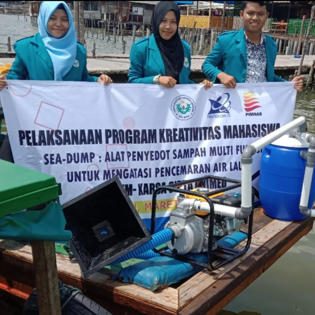 Alat Penyedot Sampah Buatan Mahasiswa, Jaga Laut Lebih Bersih