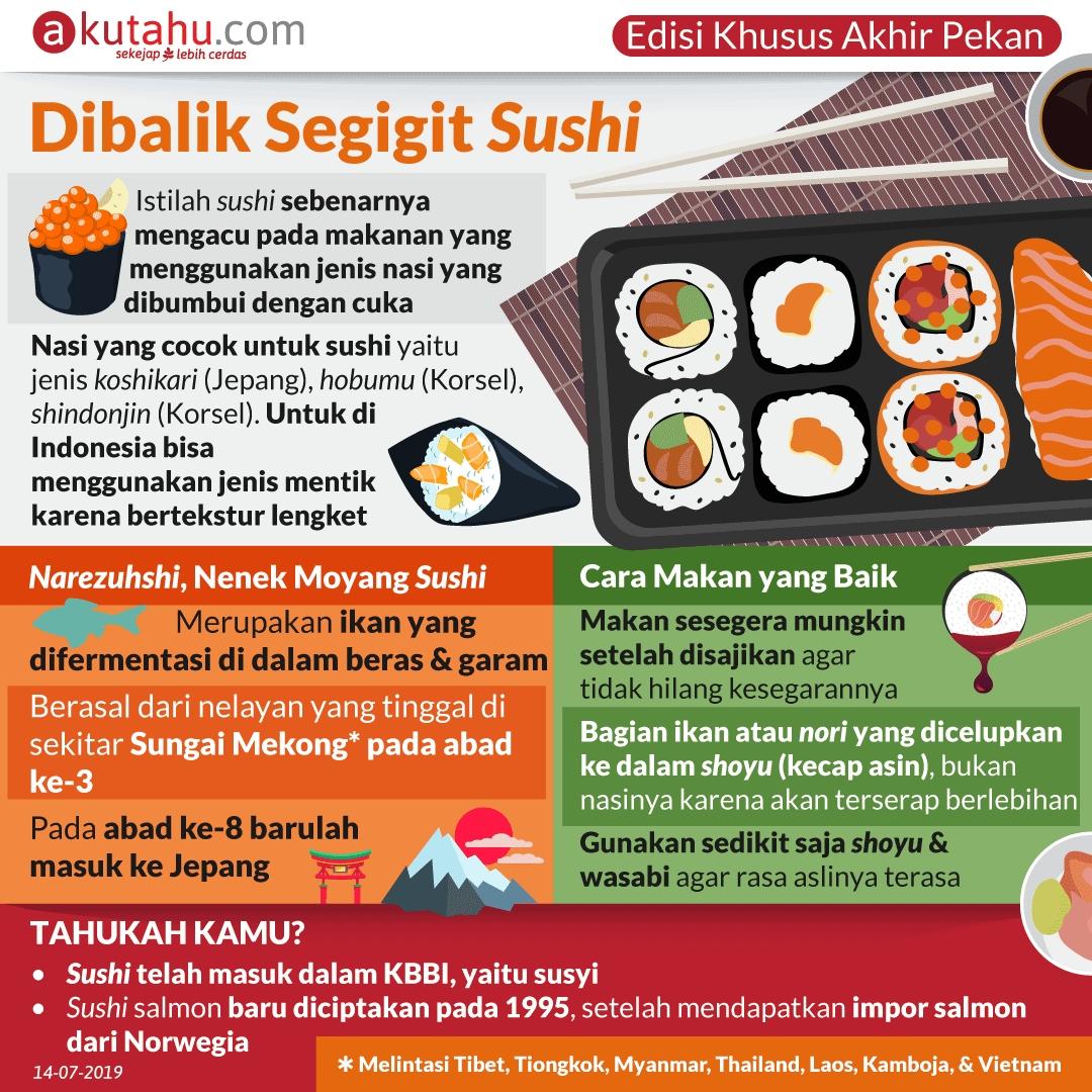 Dibalik Segigit Sushi