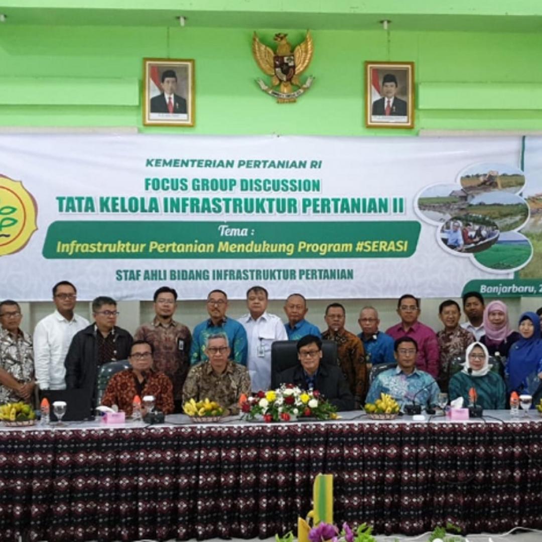 Tata Air Bisa Tingkatkan Produktivitas Pertanian Rawa
