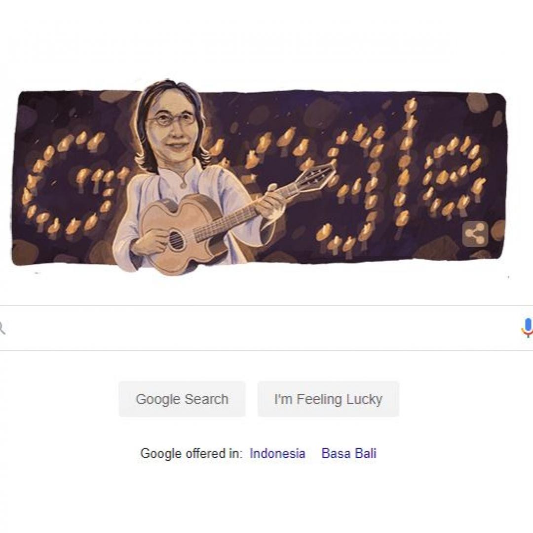 Chrisye Jadi Doodle di Google