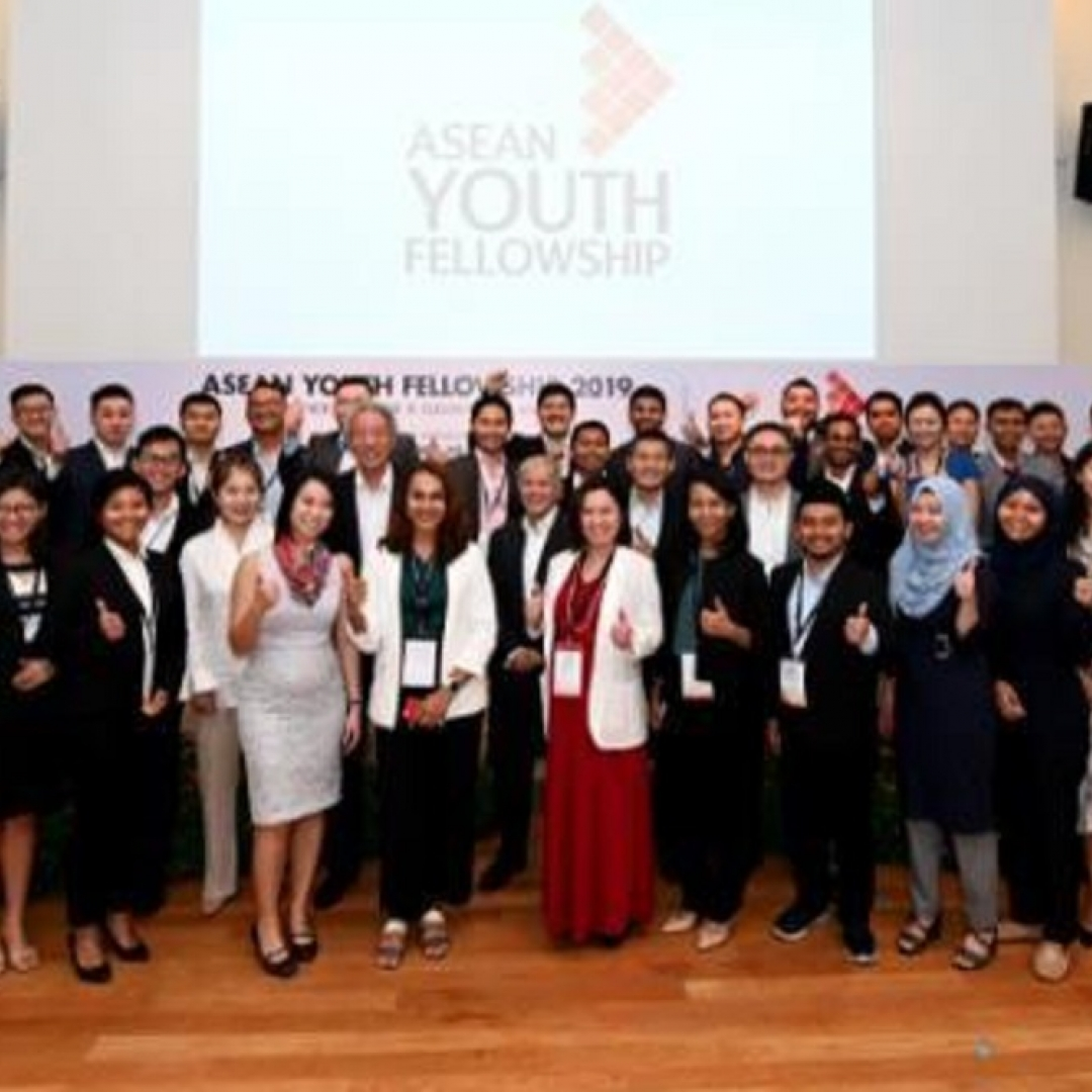 Asean Youth Fellowship 2019 Mempererat Pemuda Se-ASEAN
