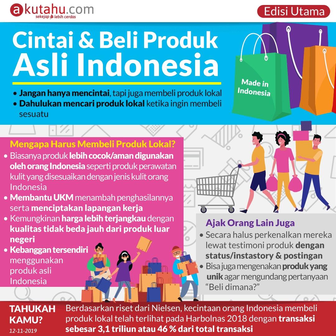 Cintai & Beli Produk Asli Indonesia