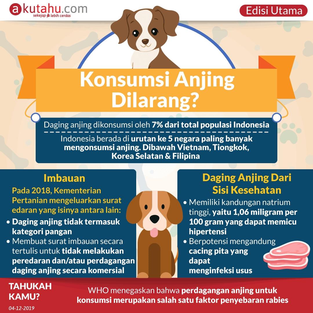 Konsumsi Anjing Dilarang?