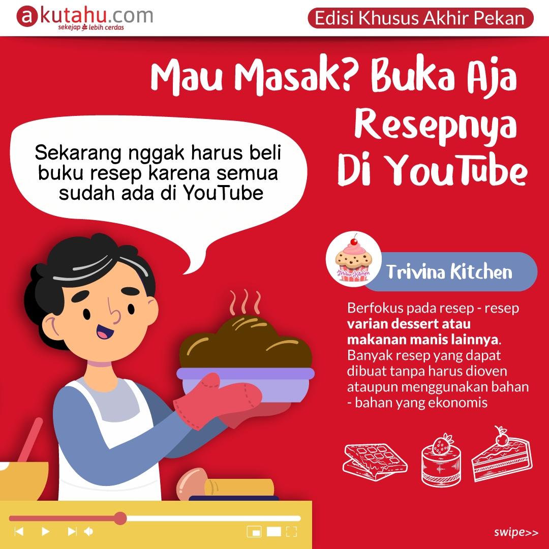 Mau Masak? Buka Aja Resepnya Di YouTube