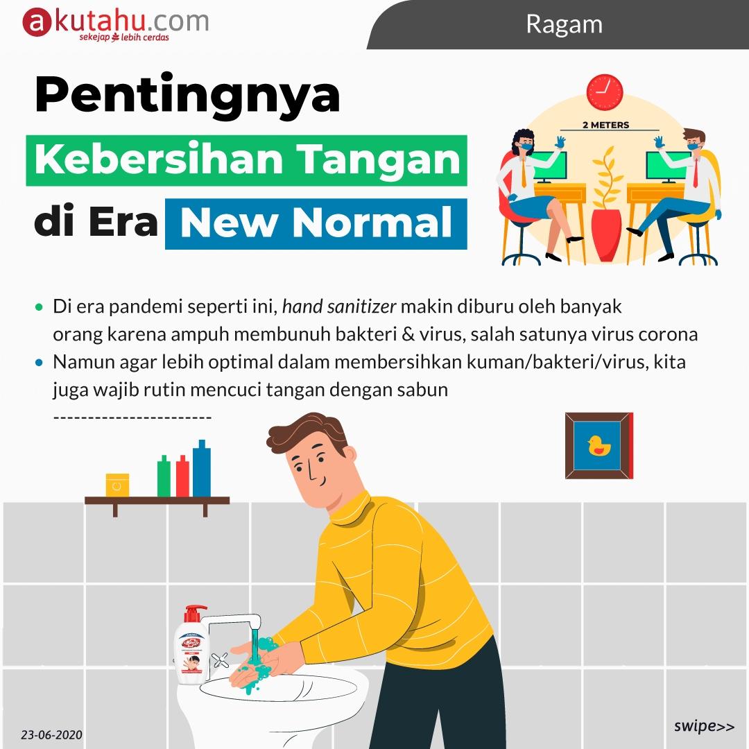 Pentingnya KebersihanTangan di Era New Normal