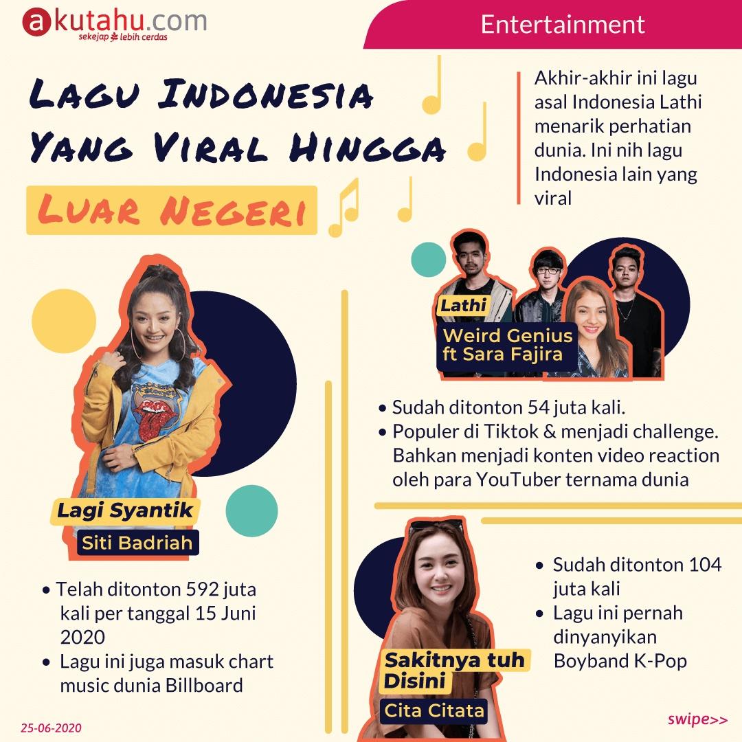 Lagu Indonesia yang Viral hingga Luar Negeri