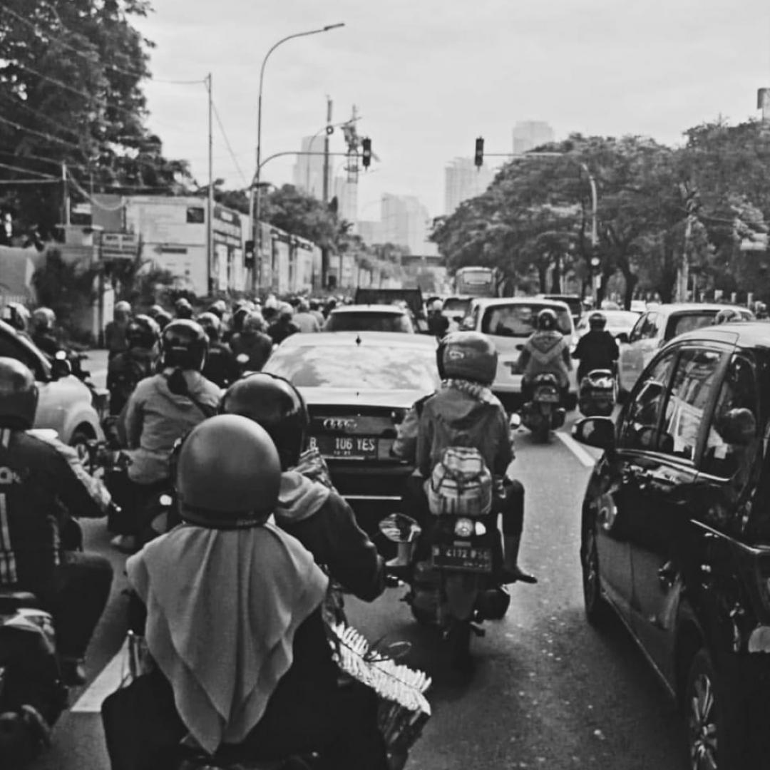 Kemacetan Kembali Terlihat di Jakarta