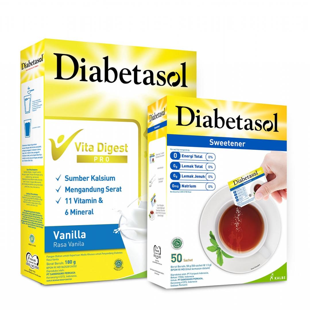 """Merayakan Hari Diabetes Sedunia di Tengah Pandemi, Diabetasol Kampanyekan """"Bersama Diabetasol, Sayangi Dia"""""""