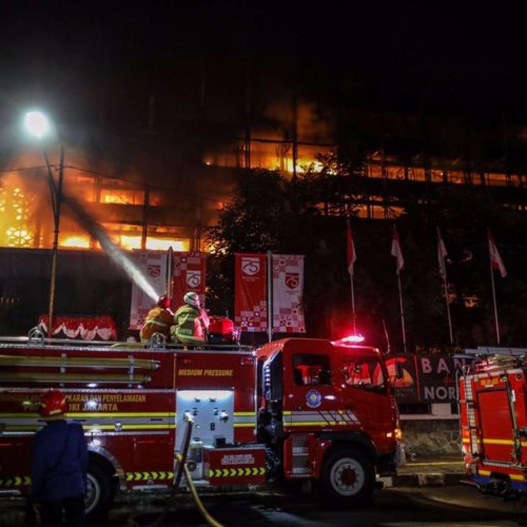 Gedung Kejaksaan Agung Terbakar,  Berkas Dipastikan Aman