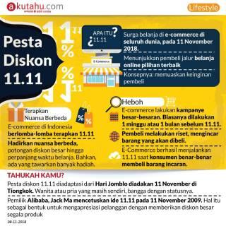Pesta Diskon 11.11