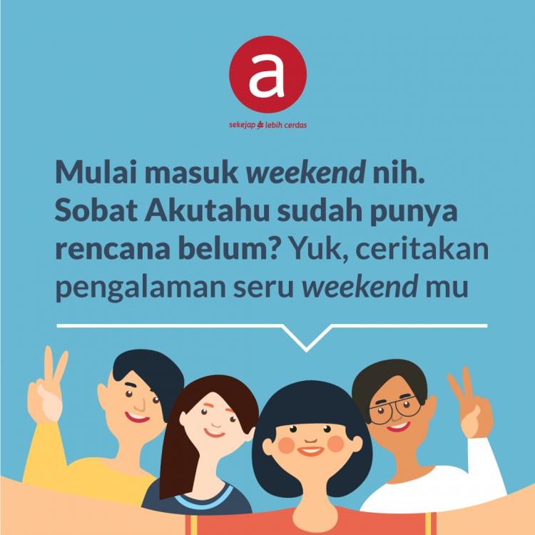 Weekend Seru