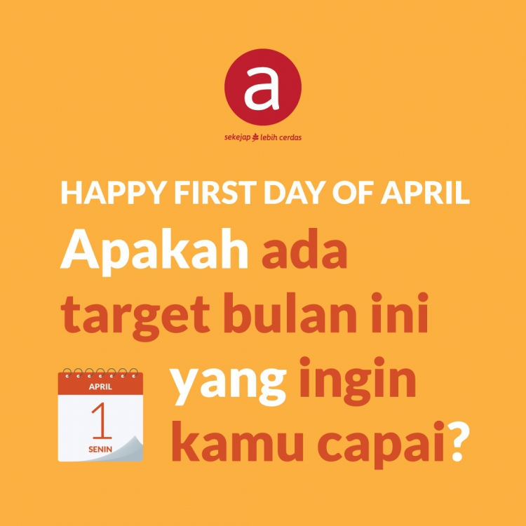 Happy First Day of April
