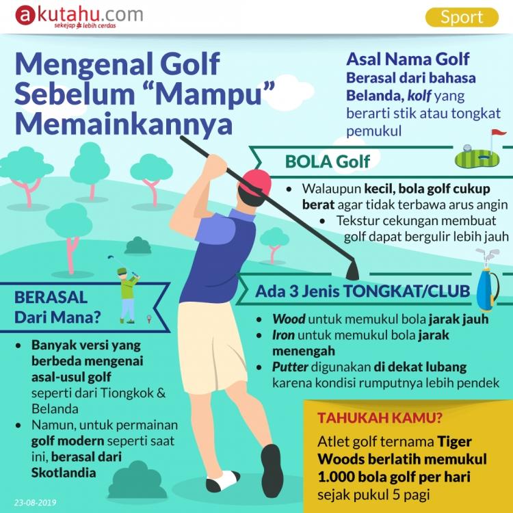 """Mengenal Golf Sebelum """"Mampu"""" Memainkannya"""