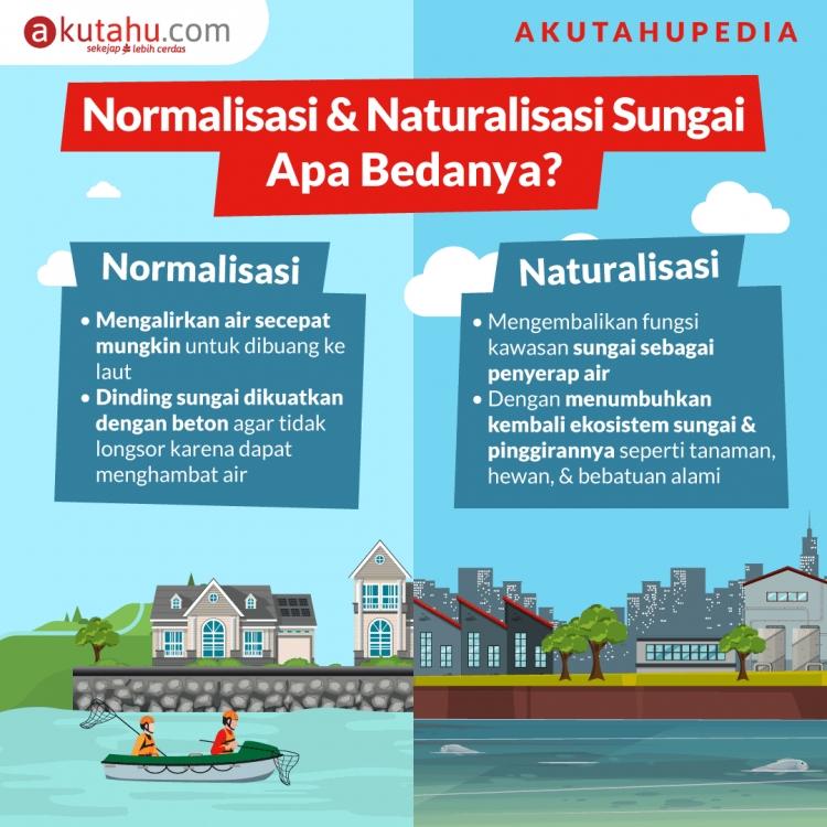 Normalisasi & Naturalisasi Sungai Apa Bedanya?