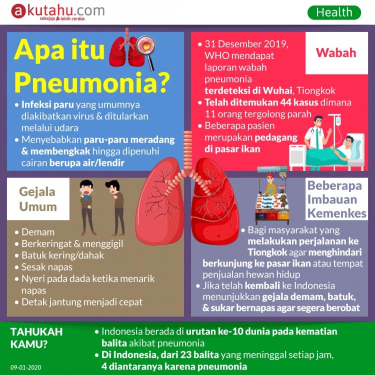 Apa itu Pneumonia?