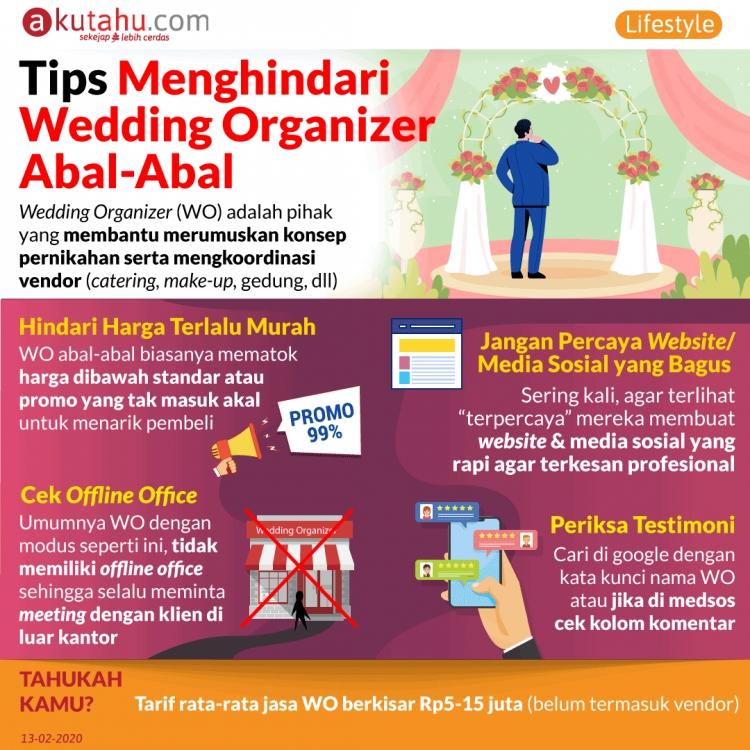 Tips Menghindari Wedding Organizer Abal-Abal