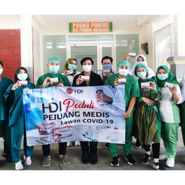 Lagi, HDI Salurkan Ribuan Propoelix untuk Tingkatkan Imunitas Tenaga Medis