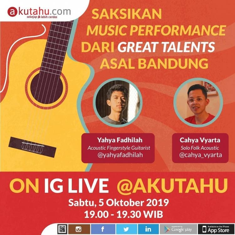 Music Performance dari Great Talents asal Bandung