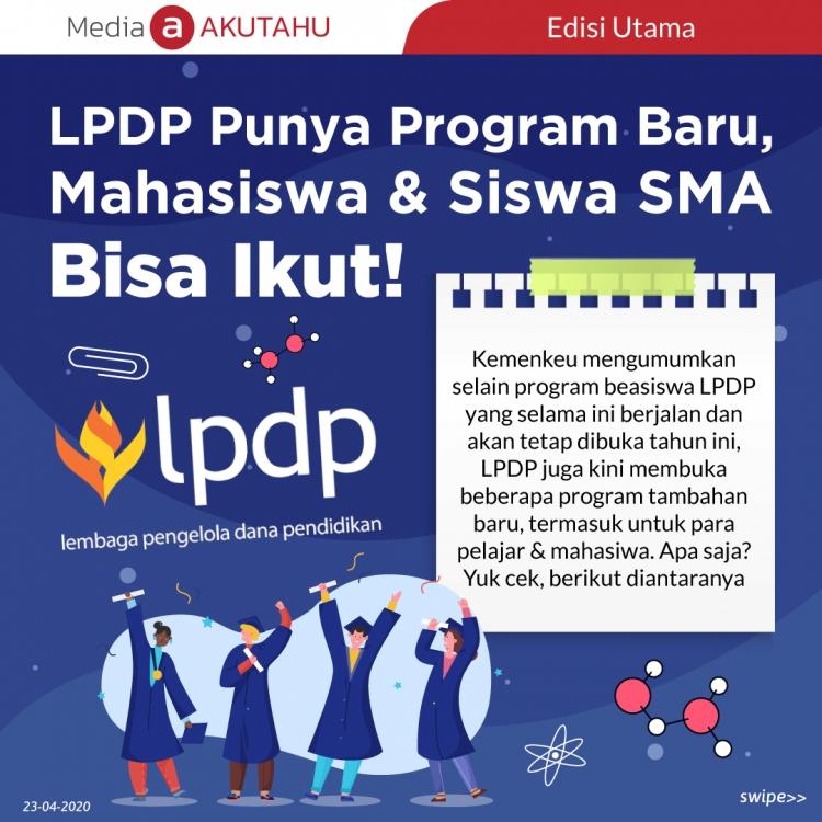 LPDP Punya Program Baru, Mahasiswa & Siswa SMA Bisa Ikut!