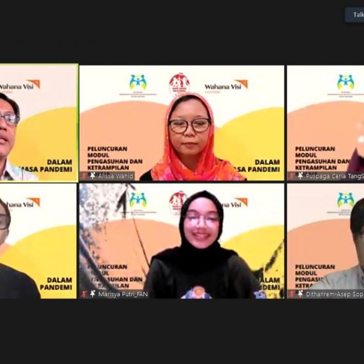 Jelang Hari Anak, KPPPA & WVI Rilis Modul Pengasuhan Remaja