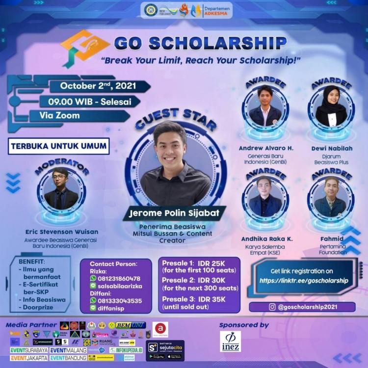 Go Scholarship 2021
