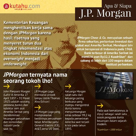 Apa & Siapa J.P Morgan
