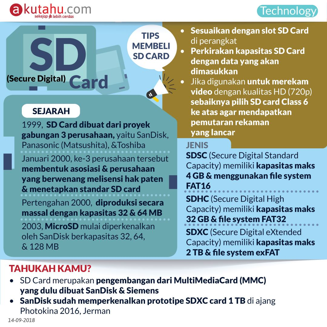 SD (Secure Digital) Card