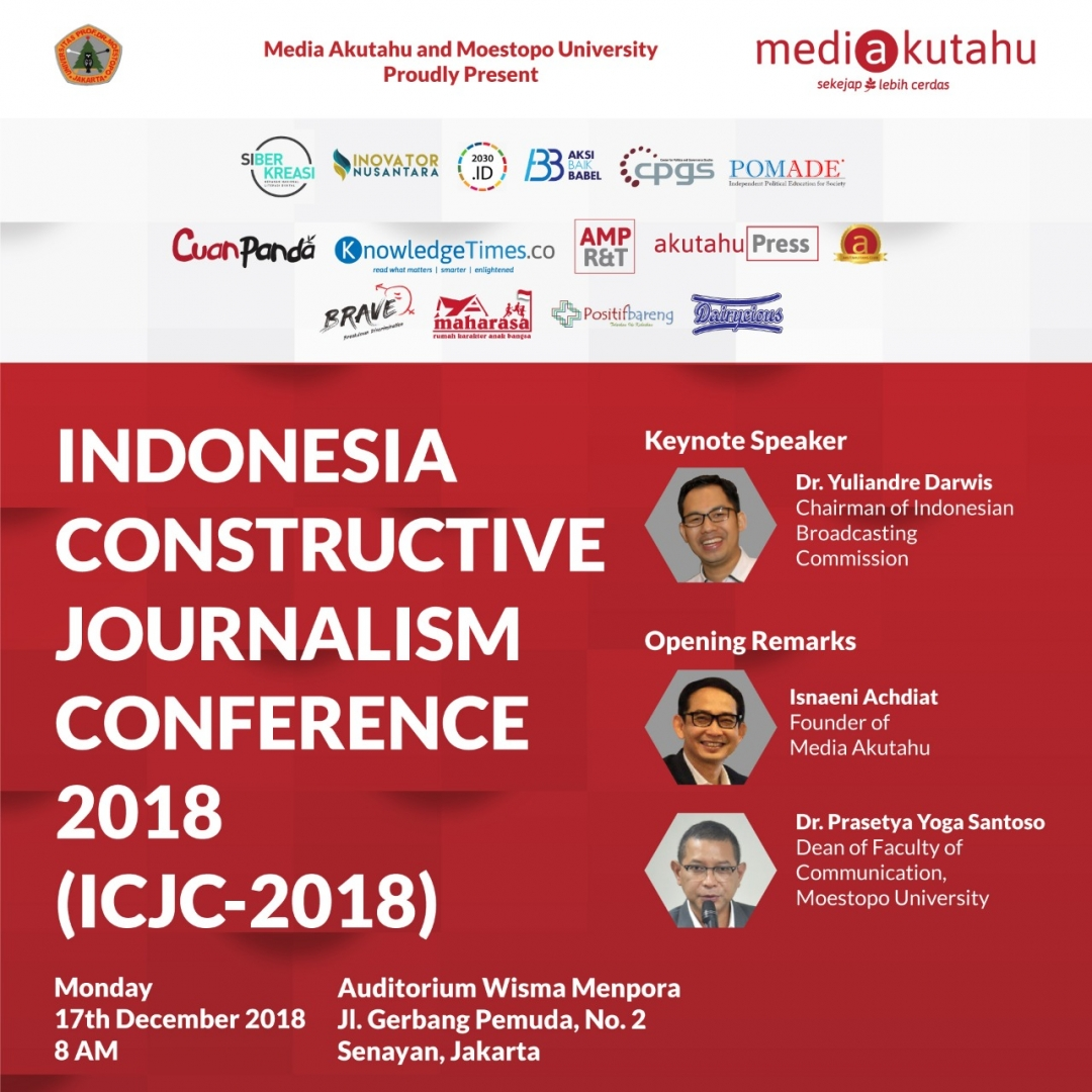 Indonesia Constructive Journalism Conference 2018