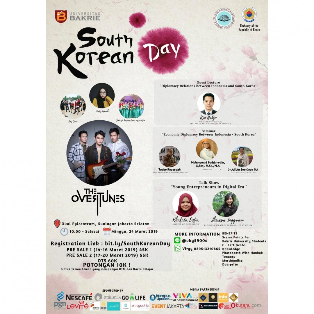 Universitas Bakrie Gelar South Korean Day