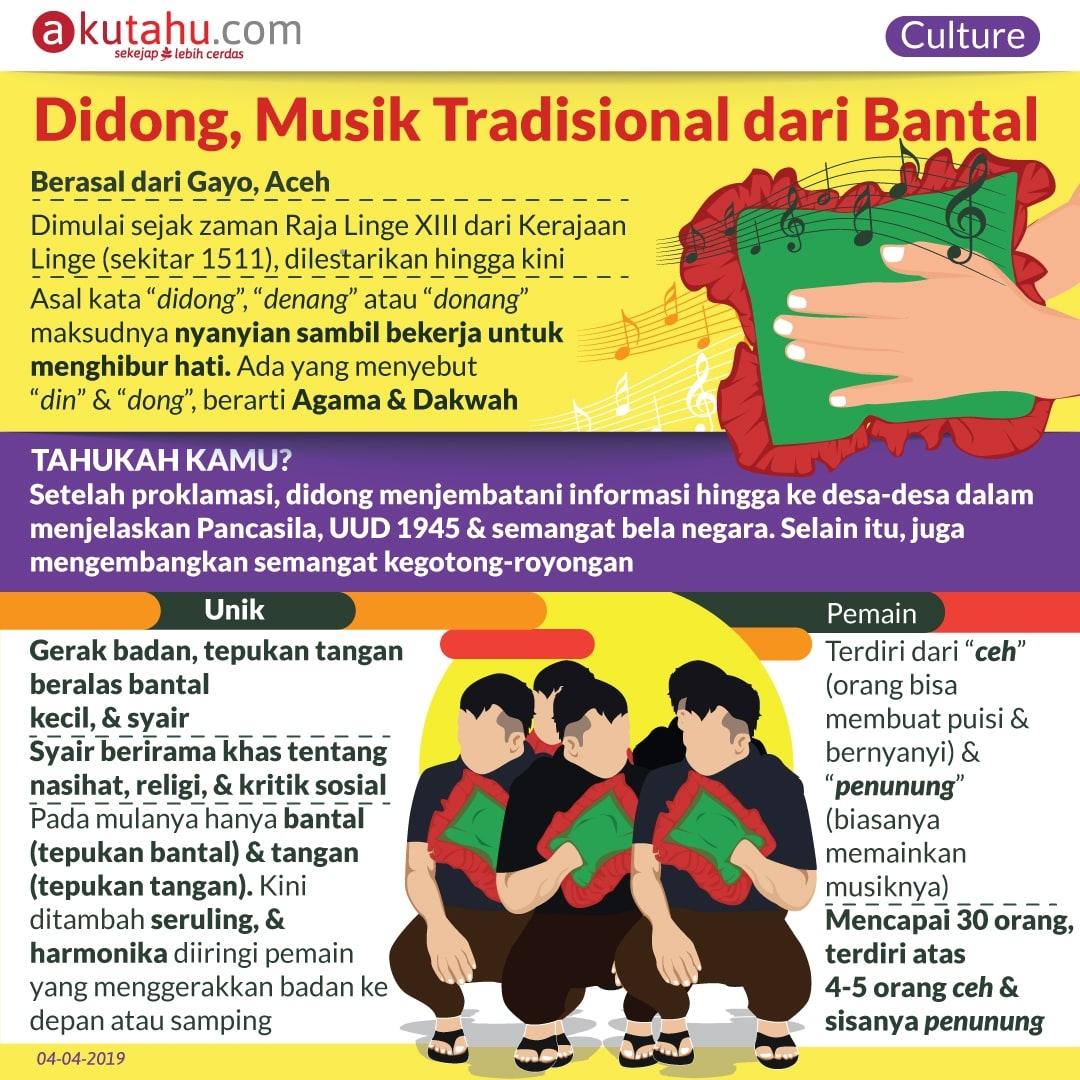 Didong, Musik Tradisional dari Bantal