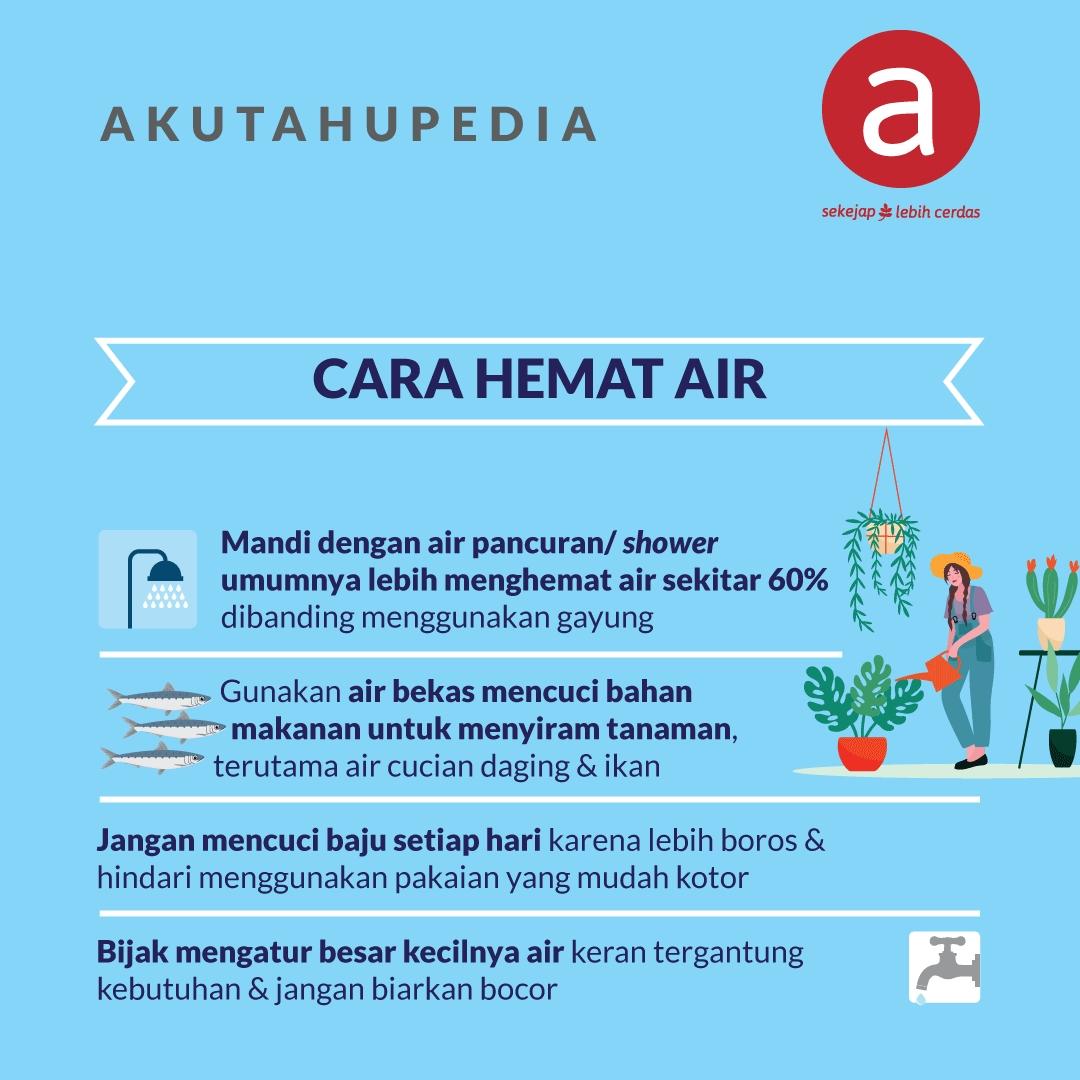 Cara Hemat Air