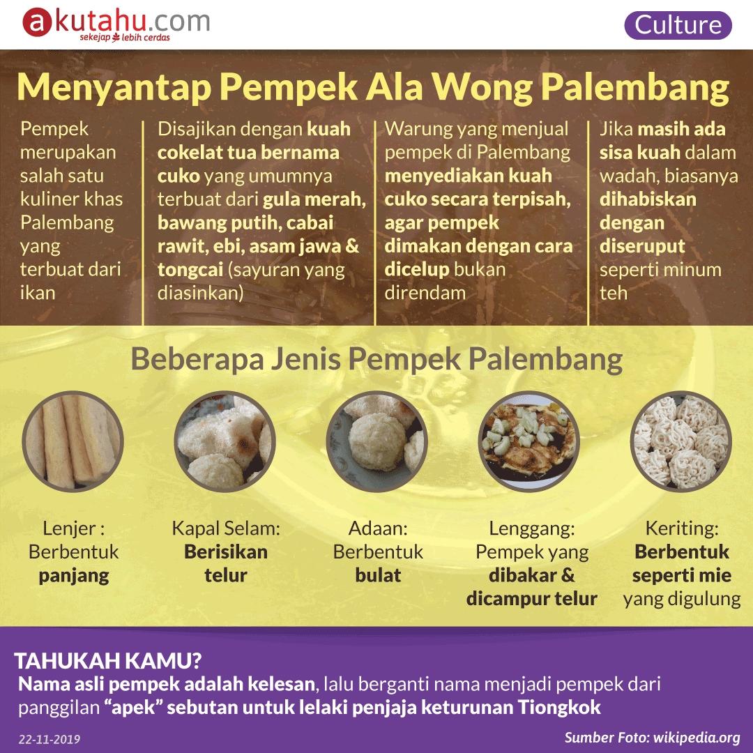 Menyantap Pempek Ala Wong Palembang