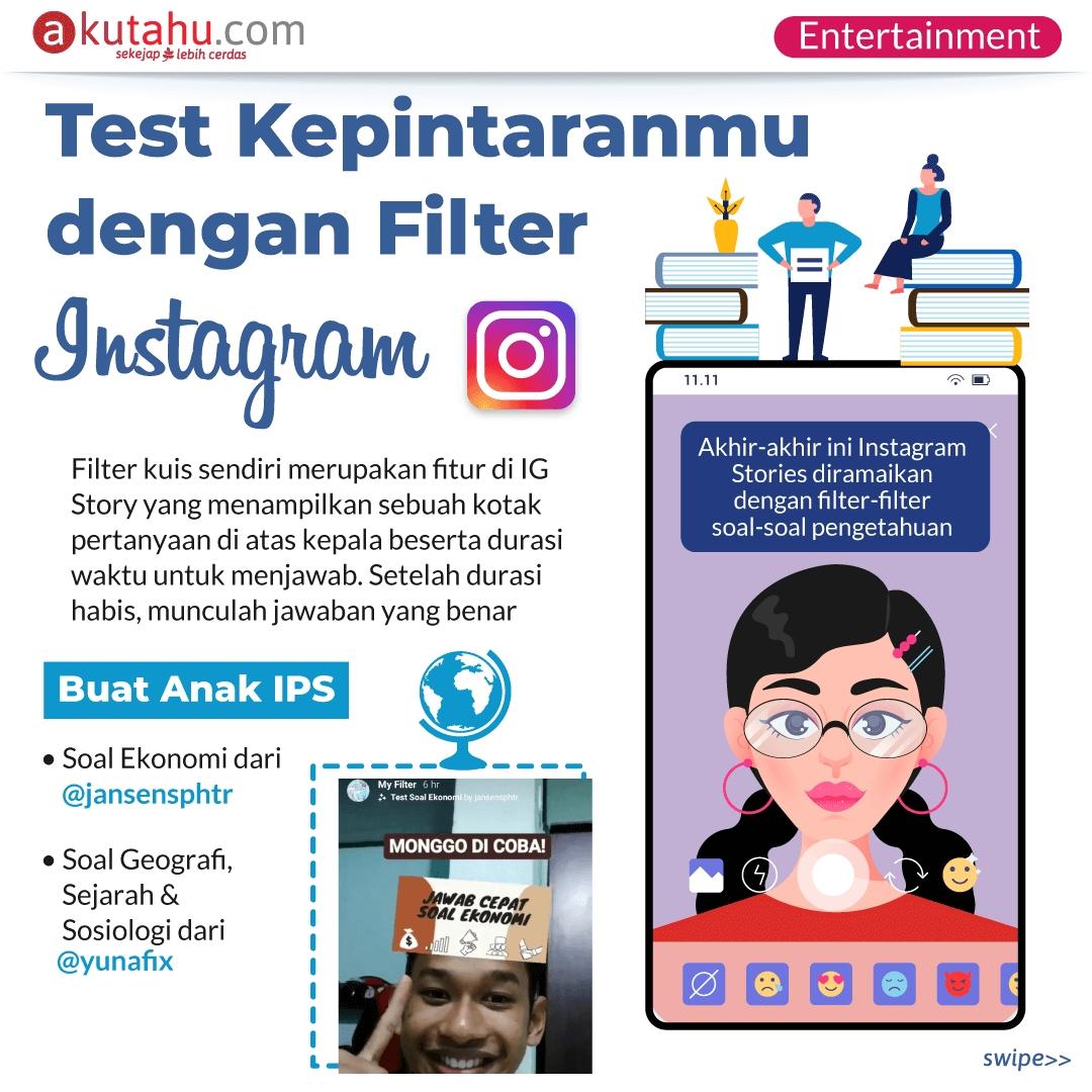 Test Kepintaranmu dengan Filter instagram