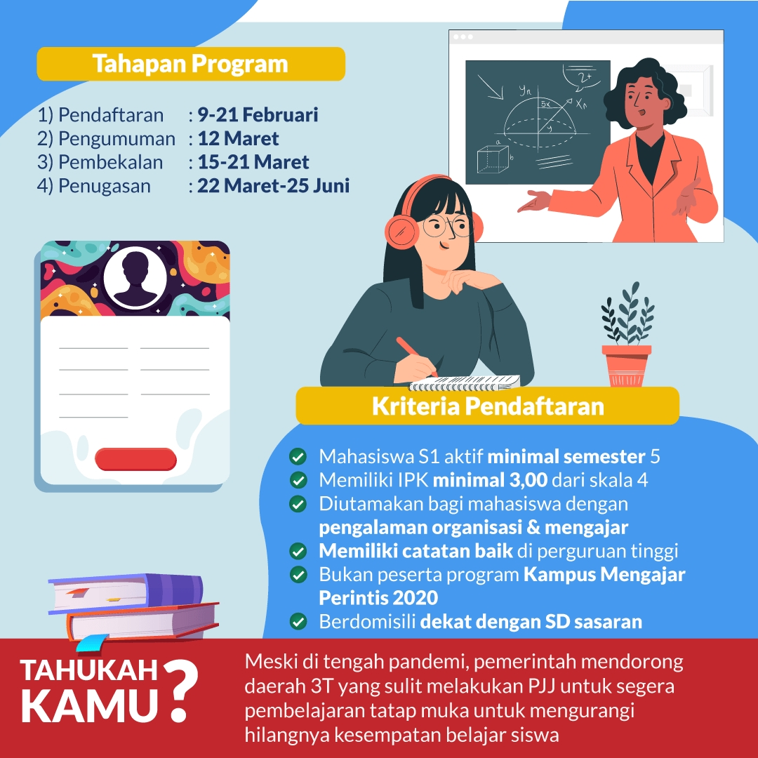 Yuk! Bantu Pendidikan Indonesia dengan Ikut Kampus Mengajar
