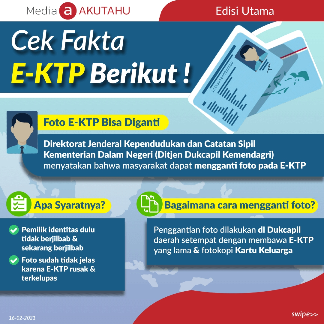 Cek Fakta E-KTP Berikut!