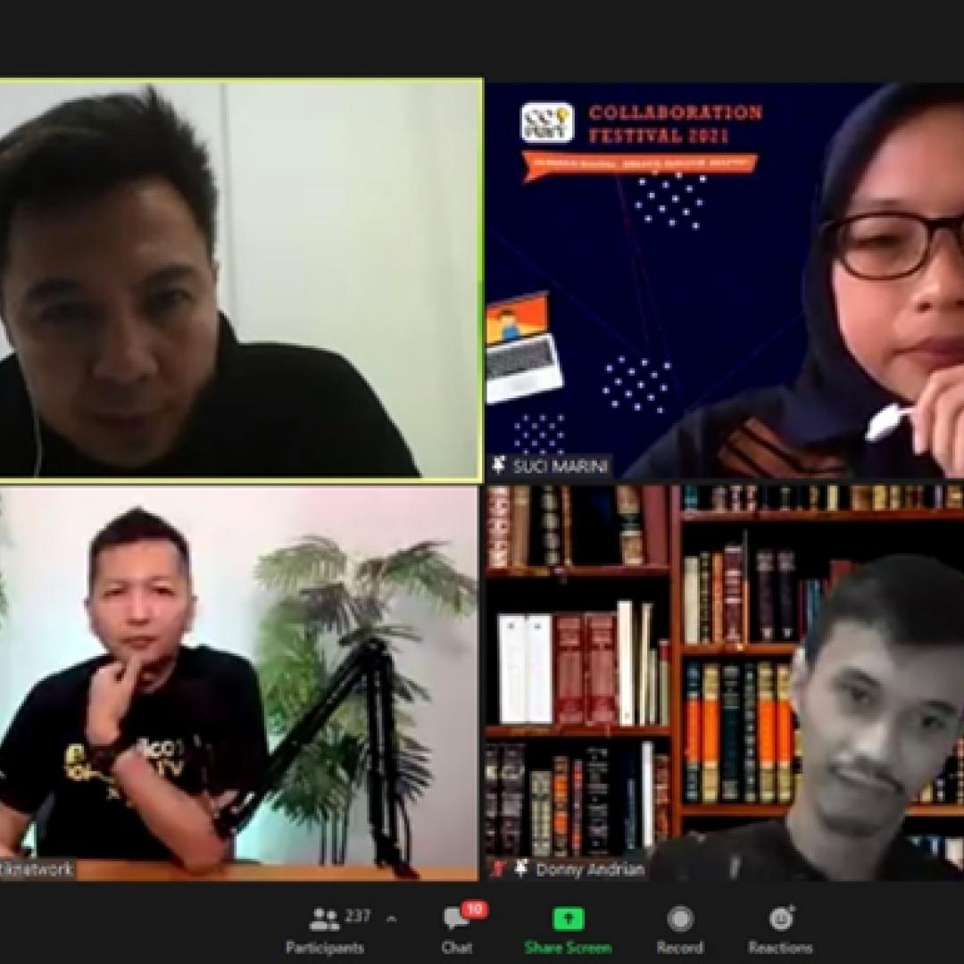 UPJ Sukses Selenggarakan Collaboration Festival 2021 Secara Virtual