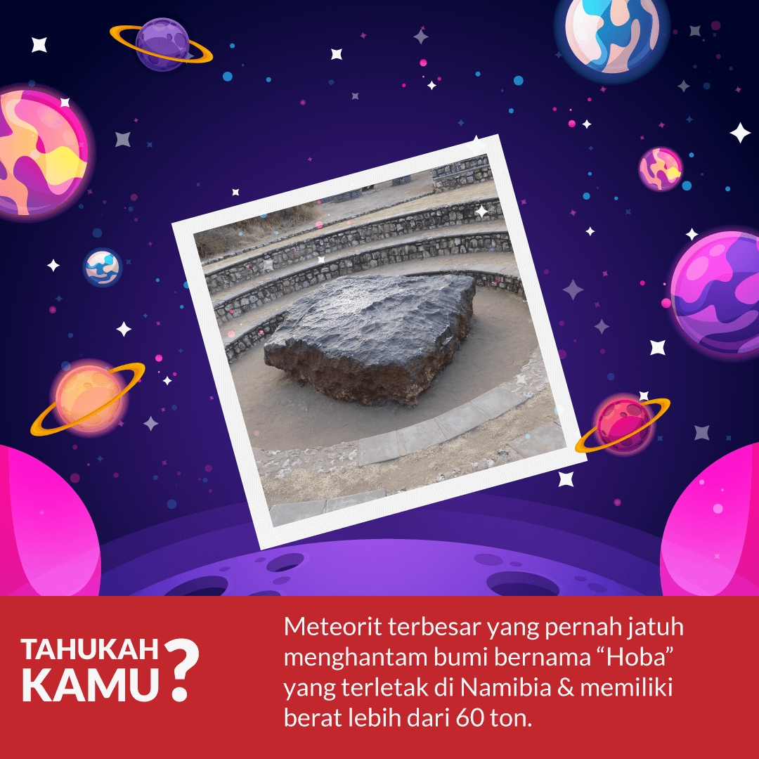 Meteor Jatuh ke Bumi… Kok Bisa, sih?